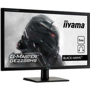 ECRAN ORDINATEUR Ecran PC Gamer - IIYAMA G-Master Black Hawk GE2288
