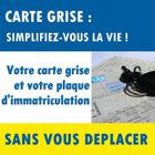 IMMATRICULATION Pack Immatriculation + Carte Grise 50cc