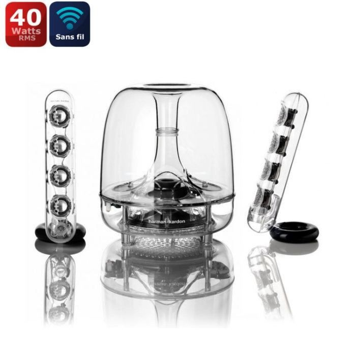 harman kardon enceintes sans fil soundsticks prix pas. Black Bedroom Furniture Sets. Home Design Ideas