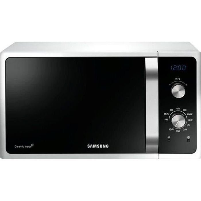 Samsung ms28f303tfs ef micro ondes monofonction achat vente micro ondes - Cocotte vapeur micro onde ...