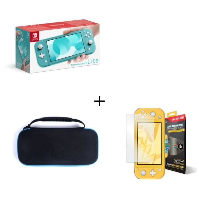 SORTIE CONSOLE NINTENDO SWITCH Nintendo Switch Lite Turquoise + Housse Switch Lit