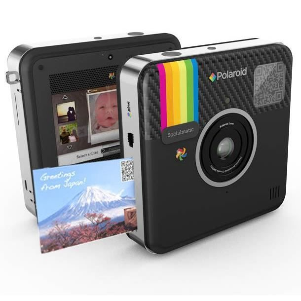 polaroid socialmatic noir achat vente appareil photo compact cdiscount. Black Bedroom Furniture Sets. Home Design Ideas