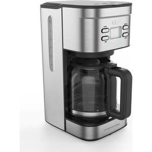 CAFETIÈRE CONTINENTAL EDISON Cafetière filtre programmable -