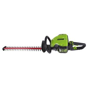 TAILLE-HAIE GREENWORKS Taille-haies électrique GD80HTK2 - 80 V
