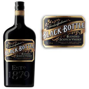 WHISKY BOURBON SCOTCH Black Bottle 70cl