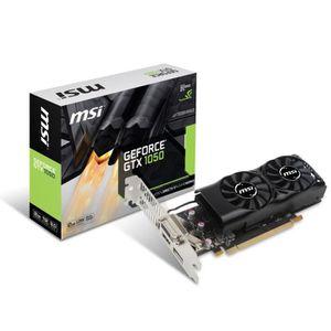 CARTE GRAPHIQUE INTERNE MSI Carte graphique GeForce® GTX 1050 2GT LP - 2Go