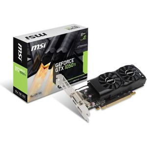 CARTE GRAPHIQUE INTERNE MSI Carte graphique GeForce® GTX 1050 Ti 4GT LP -
