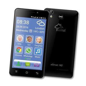MOBILE SENIOR Smartphone sénior 4G SWITEL eSmart M2 - Sonnerie e