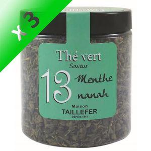 THÉ MAISON TAILLEFER Thé Vert Menthe Nanah en pot (Lot
