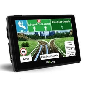 GPS AUTO MAPPY Ulti X585 CAMP Lifetime GPS Camping-Car