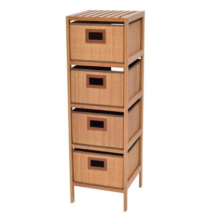 maison meubles mobilier bambou etagere  paniers f bamboutnl