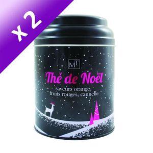 THÉ MAISON TAILLEFER Thé Noir de Noël (Lot de 2x 100 g