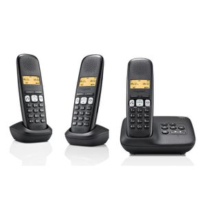 telephone gigaset avec repondeur achat vente telephone. Black Bedroom Furniture Sets. Home Design Ideas