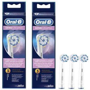 BROSSETTE PACK: 2 x Oral-B Sensi Ultrathin Brossettes De Rec