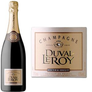 CHAMPAGNE Duval Leroy Extra-Brut x1