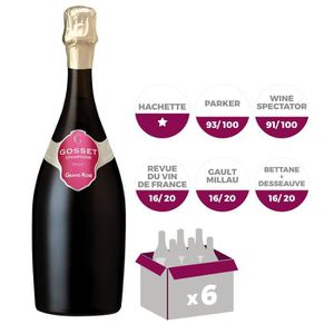 CHAMPAGNE Champagne Gosset Rosé x6