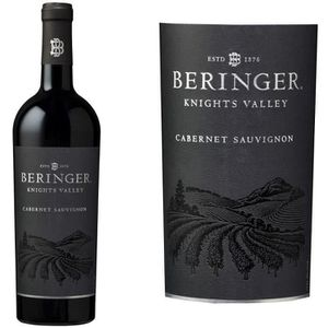 VIN ROUGE Beringer Knights Valley Californie Cabernet Sau...
