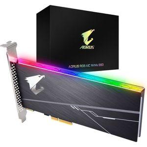 DISQUE DUR SSD GIGABYTE - Disque SSD Interne - Aorus RGB - 512Go