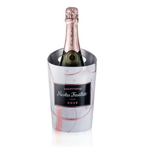 COFFRET CADEAU VIN Champagne Nicolas Feuillatte Rosé + Etui Seau Terr