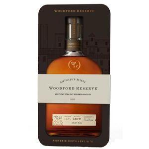 WHISKY BOURBON SCOTCH Woodford Reserve - Kentucky Straight Bourbon - 43,
