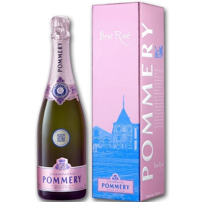photo Pommery Champagne Rose Brut