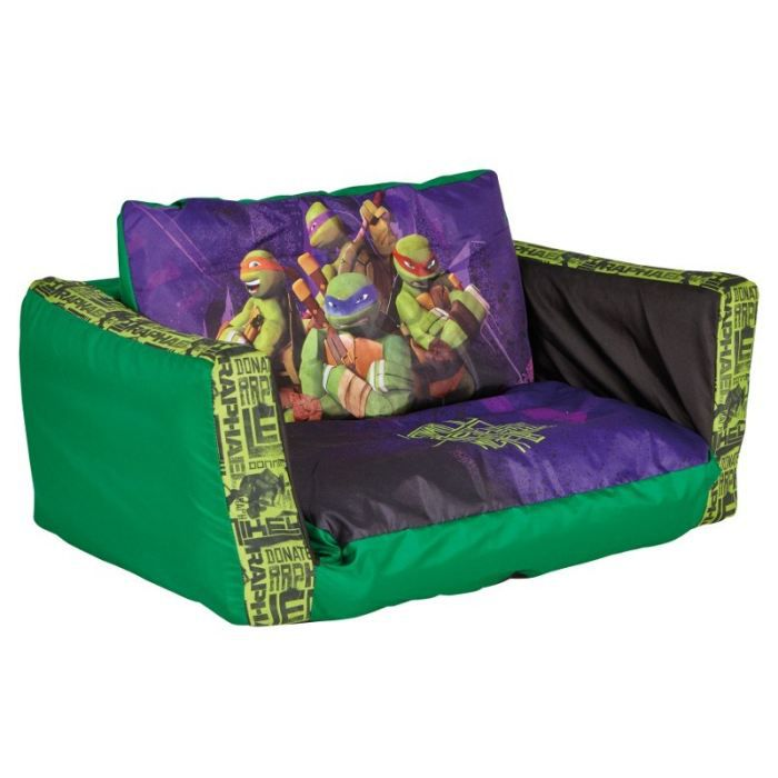 canap d pliable tortues ninja achat vente fauteuil canap b b cdiscount. Black Bedroom Furniture Sets. Home Design Ideas