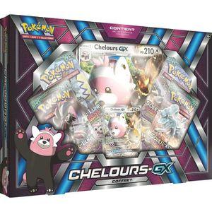 CARTE A COLLECTIONNER POKEMON - Coffret Pokémon Chelours GX