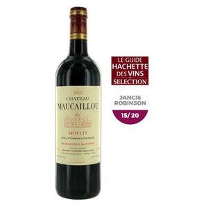 VIN ROUGE Château Maucaillou 2007  Moulis - Vin rouge de Bor