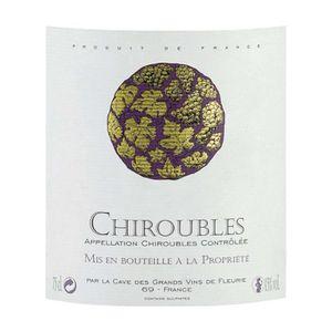 VIN ROUGE Chiroubles 2017 Beaujolais - Vin rouge du Beaujola
