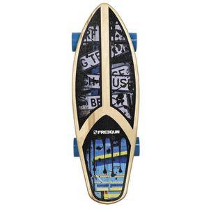 SKATEBOARD - LONGBOARD FREEGUN Skateboard Fat Cruiser 23''