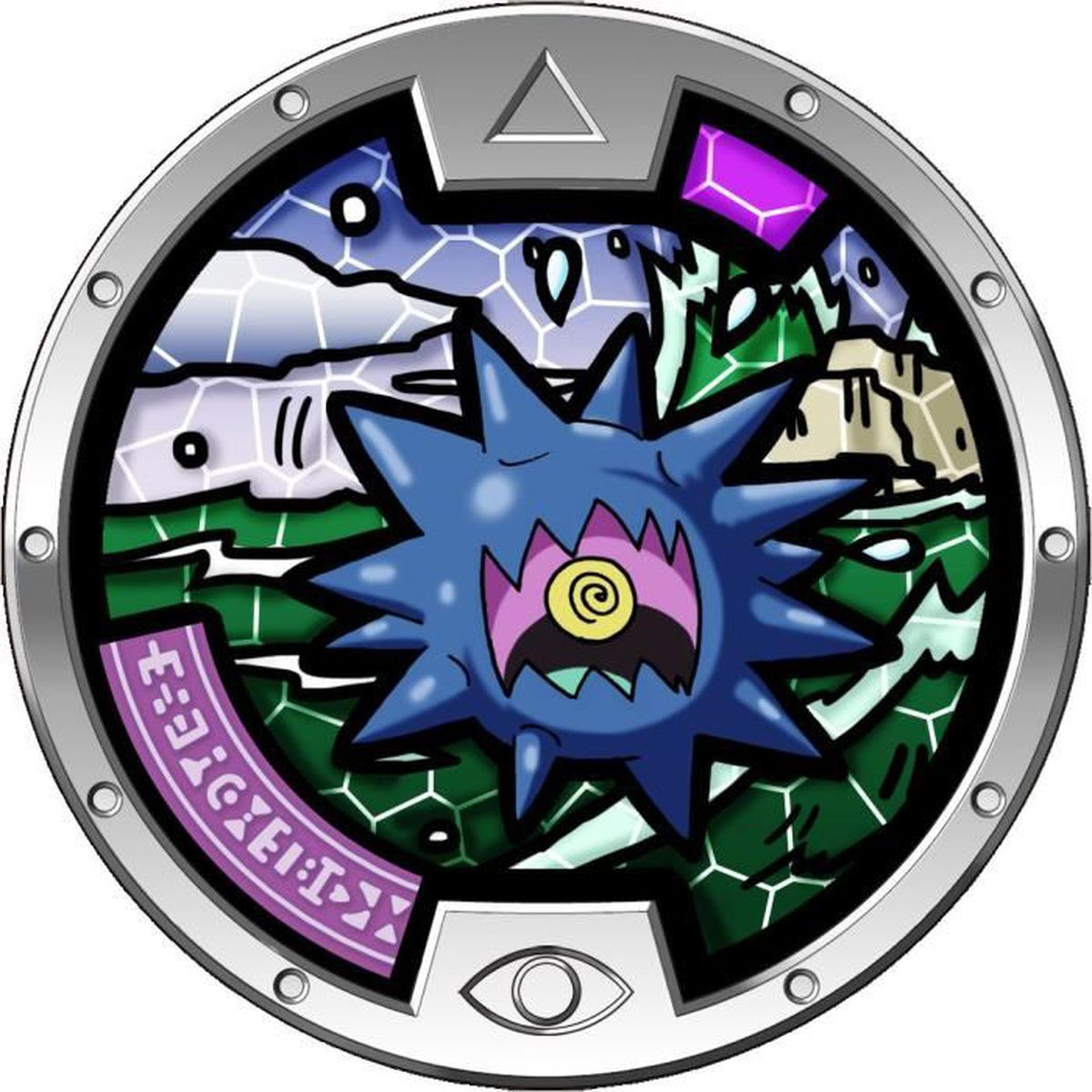 FIGURINE - PERSONNAGE YO-KAI WATCH - Médaille Collector HURCHIN