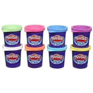 JEU DE PÂTE À MODELER PLAY-DOH - 8 Pots de pâte à modeler Play-Doh Plus