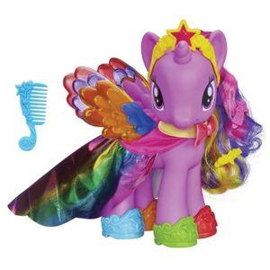 FIGURINE - PERSONNAGE MY LITTLE PONY Poney 20cm Twilight Sparkle Arc-en-