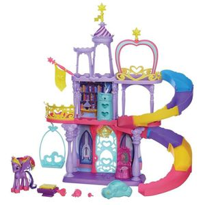 UNIVERS MINIATURE MY LITTLE PONY Rainbow Chateau  De Twilight