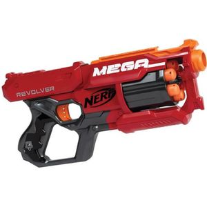 PISTOLET BILLE MOUSSE NERF MEGA ELITE - Cyclone
