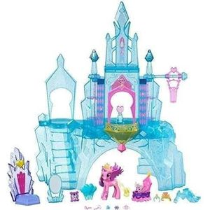 FIGURINE - PERSONNAGE MY LITTLE PONY Château Empire De Crystal