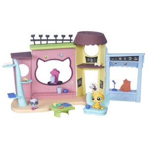 FIGURINE - PERSONNAGE LITTLE PETSHOP Le Cafe