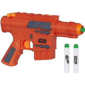 PISTOLET BILLE MOUSSE NERF STAR WARS E7 - Seal Communicator Green