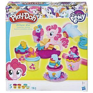 JEU DE PÂTE À MODELER PLAY DOH My Little Pony - Pinkie Pie Cup Cake Part