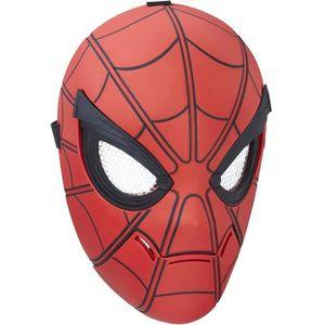MASQUE - DÉCOR VISAGE SPIDERMAN - Masque de Spiderman Sensoriel