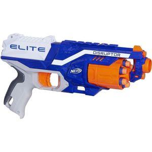 PISTOLET BILLE MOUSSE Nerf Elite Disruptor et Flechettes Nerf Elite Offi