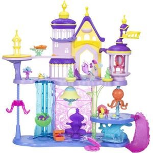 FIGURINE - PERSONNAGE MY LITTLE PONY Movie - Château Canteriot et Aquast
