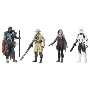FIGURINE - PERSONNAGE STAR WARS Rogue One - Pack de 4 Figurines 10cm