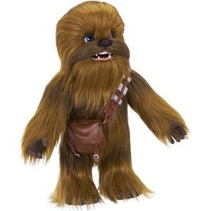 PELUCHE STAR WARS - Chewie - Peluche Intéractive FurReal C