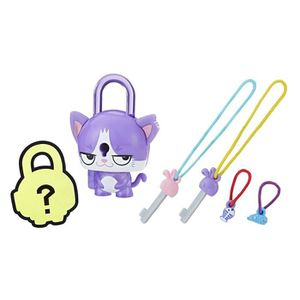 FIGURINE - PERSONNAGE LOCK STARS Série 1 - Purple Cat - Mini Figurines à