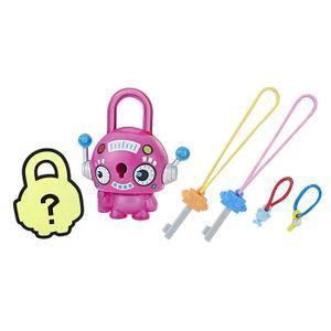 FIGURINE - PERSONNAGE LOCK STARS Série 1 - Pink Round Robo - Mini Figuri