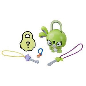 FIGURINE - PERSONNAGE LOCK STARS Série 1 - Green Bunny - Mini Figurines