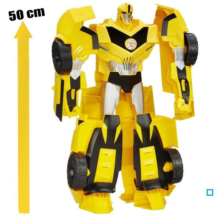FIGURINE - PERSONNAGE TRANSFORMERS Super Bumblebee Electronique