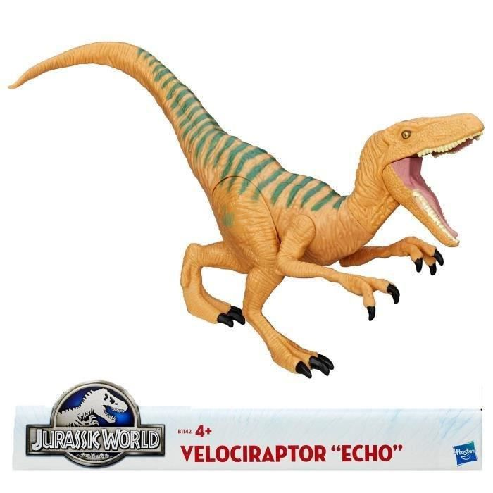 jurassic world velociraptor echo titan achat vente figurine personnage cdiscount. Black Bedroom Furniture Sets. Home Design Ideas