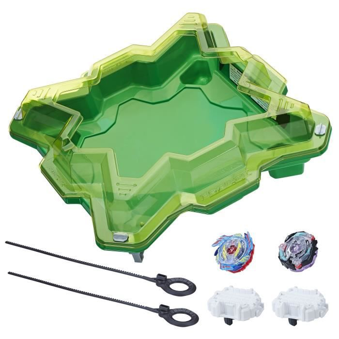 beyblade burst ar ne pour toupies tempete de cristal achat vente toupie lanceur. Black Bedroom Furniture Sets. Home Design Ideas